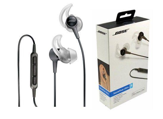 Bose SoundTrue Ultra In Ear Kopfhörer (741629 0010) für 55€ (statt 85€)
