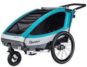 Qeridoo Sportrex2 (2018) Fahrradanhänger für 292,50€ (statt 311€)