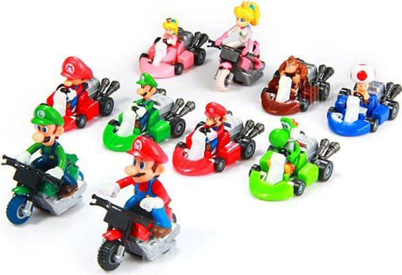 10 Super Mario Kart Figuren für 8,28€