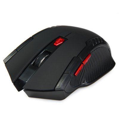 Kabellose Gaming Maus (6 Tasten, 2400DPI) für 2,45€