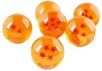 DragonBall Z   7 Kristallkugeln mit Geschenkbox für 3,63€