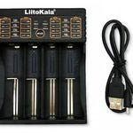 LiitoKala Lii-402 Akkuladegerät via USB für 6,04€