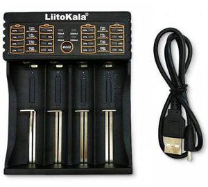 LiitoKala Lii 402 Akkuladegerät via USB für 5,48€