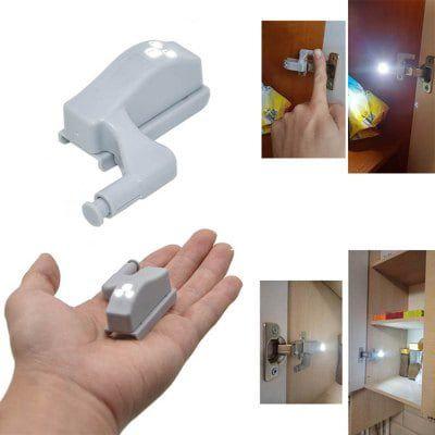 10x LED Scharnierlicht mit Sensor für Schränke für 4,62€