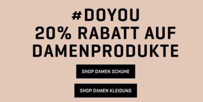 Puma Weltfrauentag mit 20% extra Rabatt auf Damen Fashion auch im SALE ♥