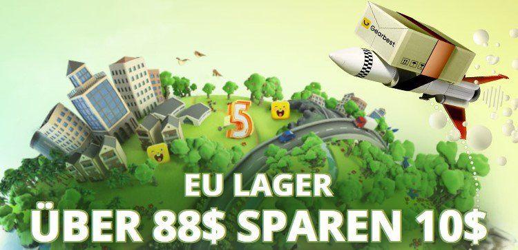 Gearbest Geburtstags Sale aus EU LAGER: z.B. Xiaomi M365 Elektroroller für 358,10€