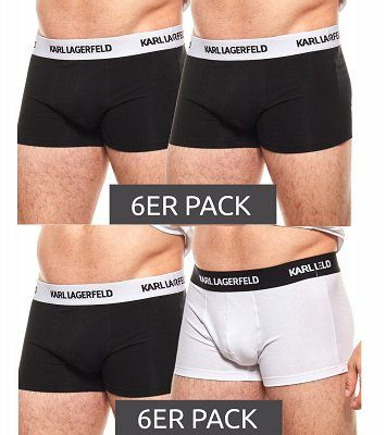 6er Pack Karl Lagerfeld Boxershorts für 32,99€ (statt 60€)
