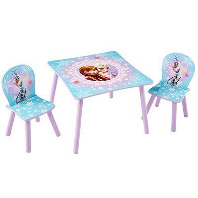 Kindersitzgruppe (2 Stühle + 1 Tisch) Disney mit versch. Motiven für je. 37,90€   nur eBayPlus