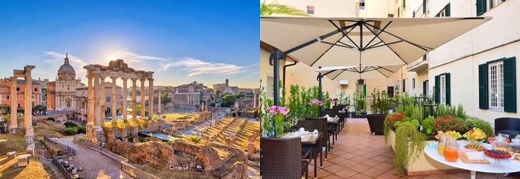 2   5 ÜN im 3* Hotel in Rom inkl. Flüge und Frühstück ab 139€ p. P.