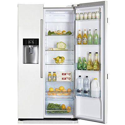 Haier HRF 628IW6   Side By Side Kühlschrank mit Wasserspender & Ice Crusher für 649€ (statt 856€)