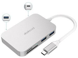 dodocool 6 in 1 Multi USB C Hub & Cardreader für 11,99€ (statt 25€)