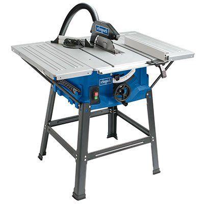 Scheppach Tischkreissäge HS100S mit 2000 W, Untergestell & 2 Tischverbreiterungen für 99,99€ (statt 109€)