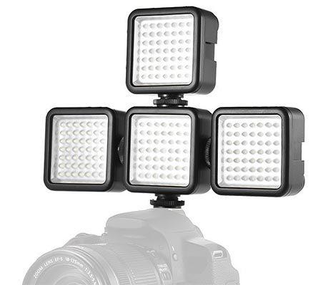 Andoer W49   dimmbares LED Licht für eure DSLR etc für 5,80€ (statt 8€)