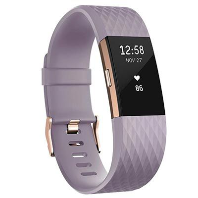 FITBIT Charge 2 Special Edition in Lavendel/Roségold für 129€ (statt 154€)