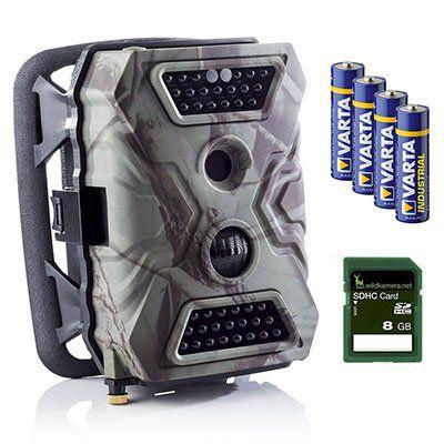 Wildkamera Premium Pack Wild Vision Full HD 5.0 für 112,41€ (statt 139€)