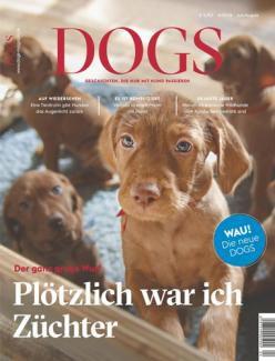DOGS Magazin für Hundebesitzer im Jahresabo für 35,40€ + 25€ Gutschein