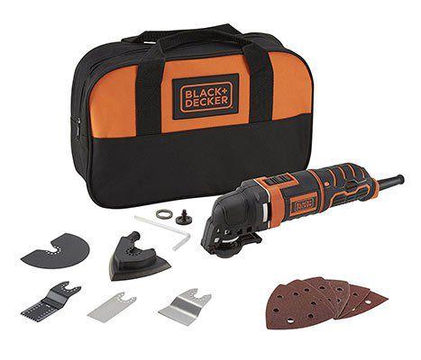 Black & Decker MT300SA2   Multifunktionswerkzeug mit 12tlg. Zubehör für 62,01€ (statt 82€)