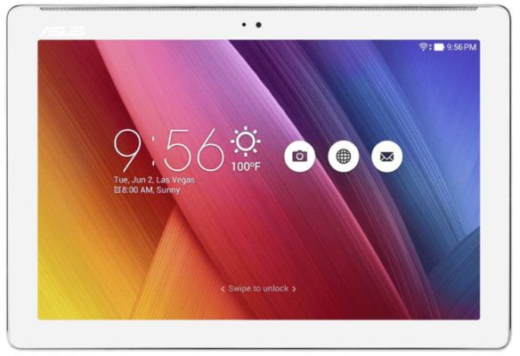 ASUS ZenPad 10   10 Zoll Android 6 Tablet mit 64 GB (Pearl White) ab 154€ (statt 194€)