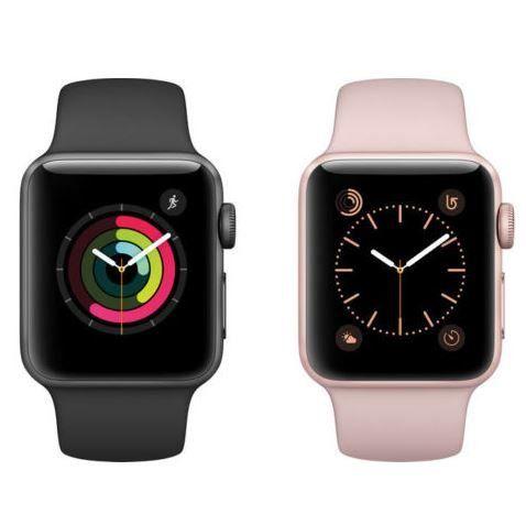 Apple Watch Series 2 (42mm) mit Sportarmband div. Farben für 189,90€ (statt neu 345€)