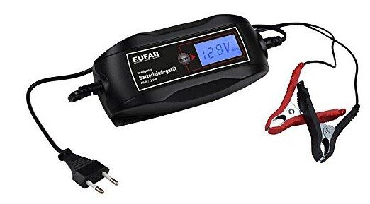 EUFAB 16615 Batterieladegerät 6/12V 4A für 15€ (statt 20€)