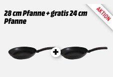 2er Pack TVS Aroma Bratpfannen (24cm + 28cm) für nur 11€