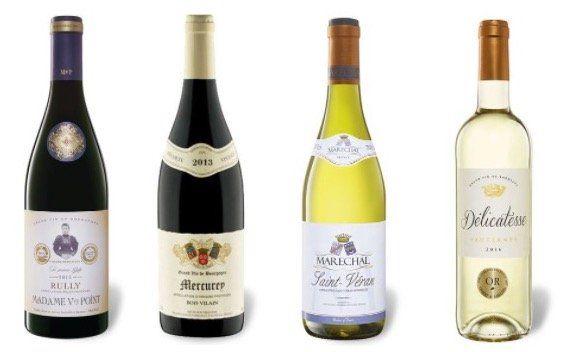 30% Rabatt auf ausgewählte französische Weine ab 30€ MBW bei LIDL