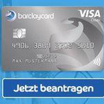 Beitragsfreie Barclaycard New Visa mit 50€ Startguthaben – dauerhaft gebührenfrei!