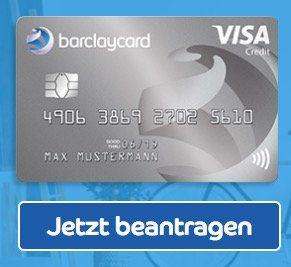 Beitragsfreie Barclaycard New Visa mit 50€ Startguthaben   dauerhaft gebührenfrei!