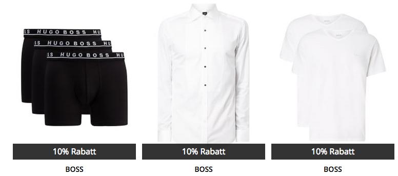 Peek & Cloppenburg* Oscar Special Sale mit 10% Extra Rabatt auf Anzüge & Accessoires