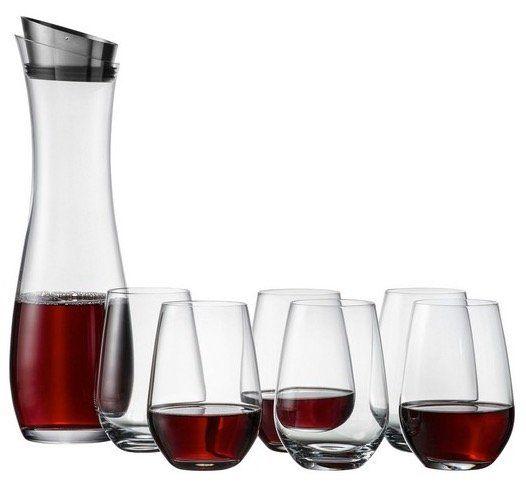 SCHOTT ZWIESEL Fresca Gläserset 7 teilig: Karaffe + 6 Tumbler für 23,94€ (statt 51€)