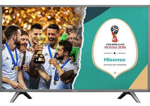 Hisense H43NEC5605   43 Zoll 4k Fernseher mit Triple Tuner und WLAN ab 289,99€ (statt 369€)