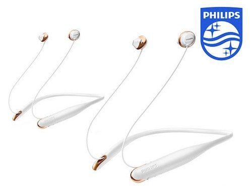 2er Pack Philips SHB4205WT Flite Bluetooth In Ear Kopfhörer für 39,95€ (statt 60€)