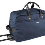 Bugatti Contratempo Reisetasche auf Rollen mit Trolleygestänge in Blau für 85,95€ (statt 160€)