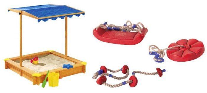 15% Rabatt auf Gartenspielzeug bei LIDL   z.B. Playtive Junior Sandkasten für 47,44€ (statt 60€)
