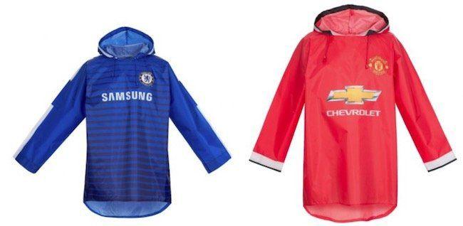 FC Chelsea London und Manchester United Regenjacken für je 3,33€ zzgl. Versand