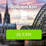 FlixTrain mit 10.000 Tickets (Hin  und Rückfahrt!) für je 9,99€ quer durch Deutschland