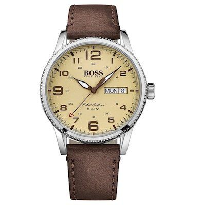Boss Watches Herrenuhr Pilot 1513332 für 116,15€ (statt 156€)