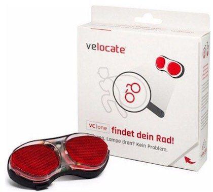 velocate Rücklicht mit GPS Tracker gegen Diebstähle (inkl. Datentarif für 1 Jahr) für 104,99€ (statt 156€)