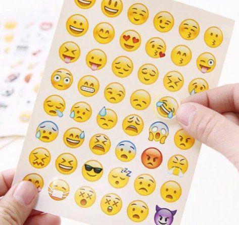 48 Emoji Sticker für nur 0,08€