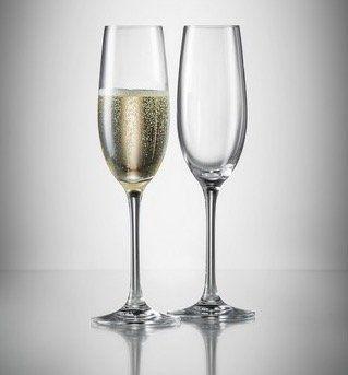12er Set Schott Zwiesel Champagnergläser für 14,43€ (statt 30€)