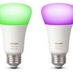 Philips HUE White and Color Ambiance LED E27 + Hue Bridge für 79,99€ (statt 109€)