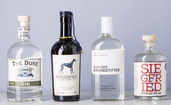 Vorbei! Gin Set Deutschland bestehend aus 4 Flaschen (Siegfried, Windspiel etc.) für 89,10€ (statt 124€)