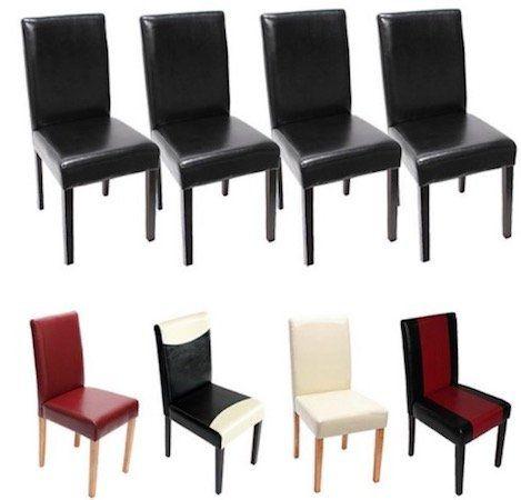 4er Set heute wohnen Esszimmerstühle für 104,99€ (statt 148€)