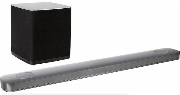 LG SJ9   wireless Dolby Atmos Soundbar mit 500 Watt für 444€ (statt 549€)