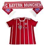 FC Bayern Fussball Fan-Set (Trikot Home XL 2017/18 Kurzarm + Fan Schal) für 29,90€ (statt 37€)