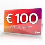 Sky Cinema, Sky Fußball-Bundesliga oder Sky Sport Paket für 24,99€ + 100€ Gutschrift