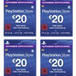 Vorbei! 80€ Sony PSN Guthaben für 52,95€ (statt 74€)