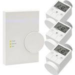 Homematic Starter Set mit 3 Thermostaten und einer Zentrale für 179,95€ (statt 200€)