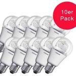 10er Pack Osram STAR 8W E27 LED Birnenlampen für 19,99€ (statt 25€)
