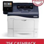 Xerox VersaLink C400N Farblaserdrucker für 254,90€ + 75€ Cashback (statt 377€)